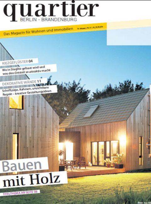 Quartier - Bauen mit Holz