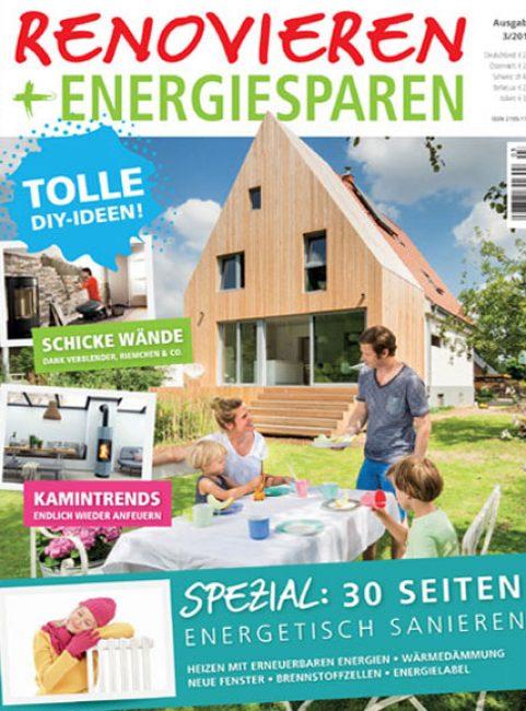 Renovieren und Energiesparen